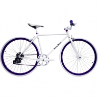 ruderberna【sunny-black】unique-shimano-5-+-1-sunny-purple-city-bike