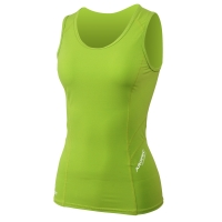 aropec-women-s-compression-sleeveless-top-ii---lime