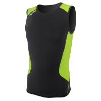 aropec-compression-sleeveless-top-ii---black-lime