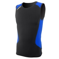 aropec-compression-sleeveless-top-ii---black-blue