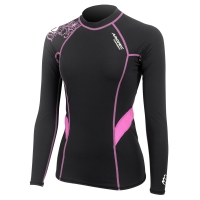 aropec-women-s-compression-long-sleeve-top-ii---black-purple