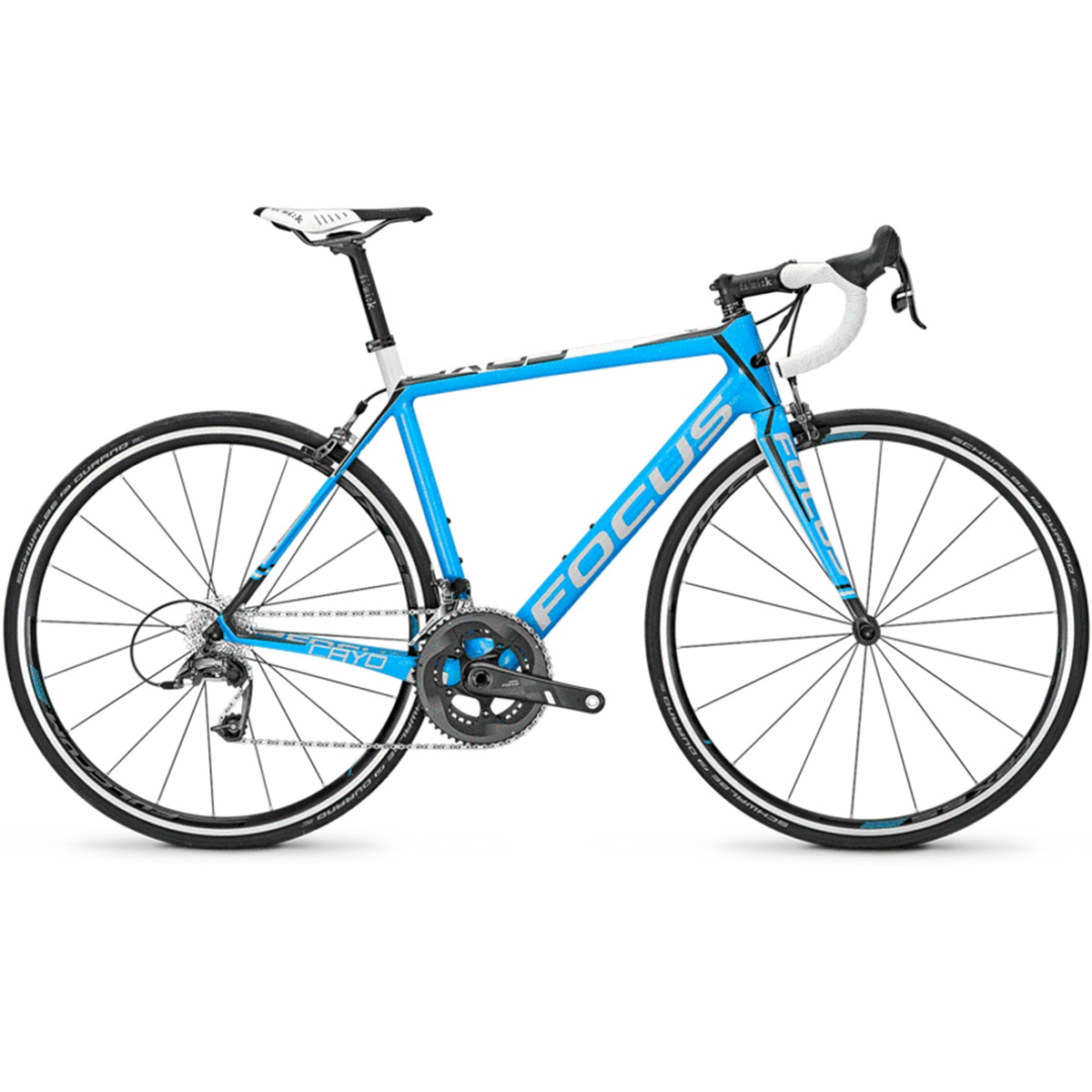 Focus Cayo Team Replica Force 22 Carbon Road Bike