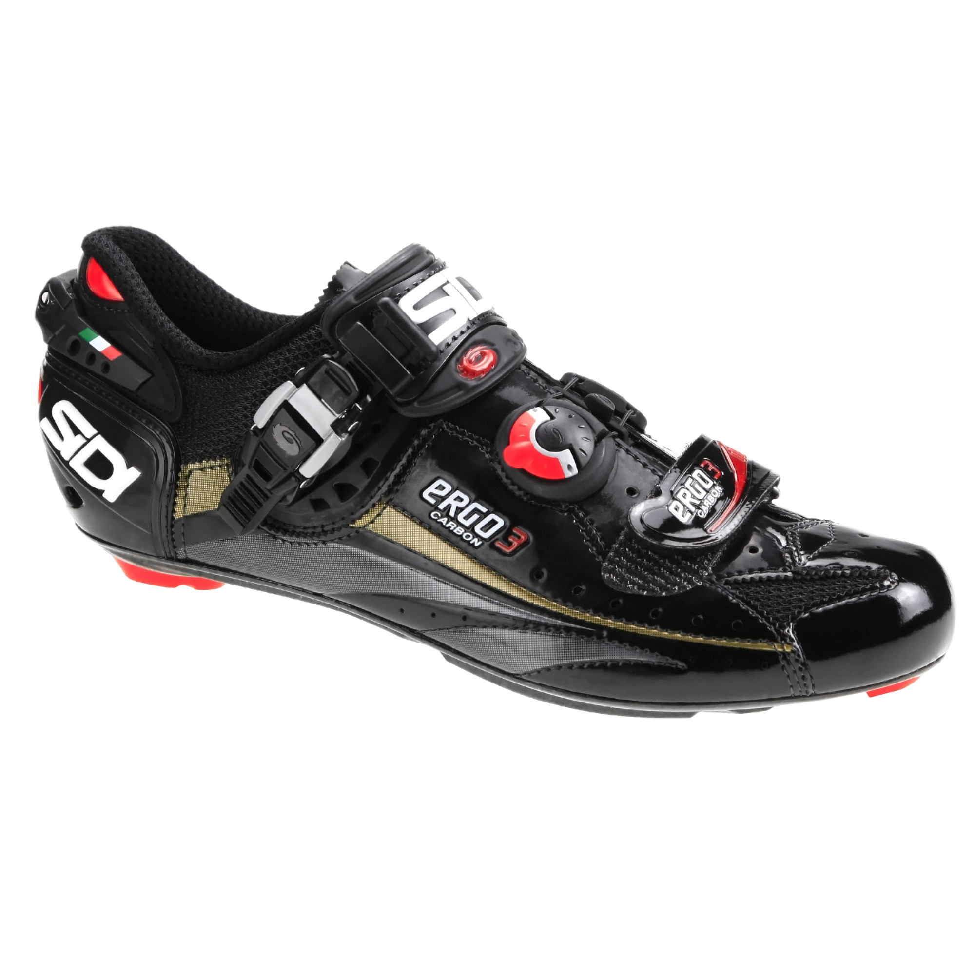Sidi Ergo 3 Carbon Vernice Road Shoes - Cycling Express