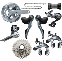 shimano【シマノ】105-r7000-11-speed-groupset---silver-edition